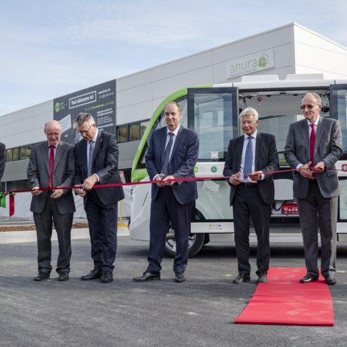 Inauguration des navettes automatisées