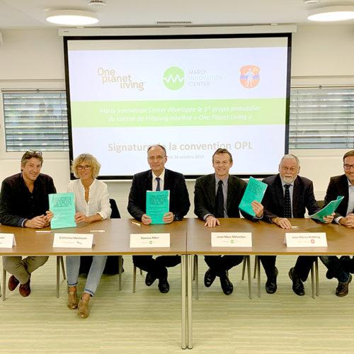 Le MIC développe le 1er projet immobilier fribourgeois labellisé One Planet Living (OPL)!
