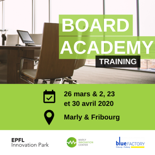 The Board Academy is coming back to Fribourg in 2020!