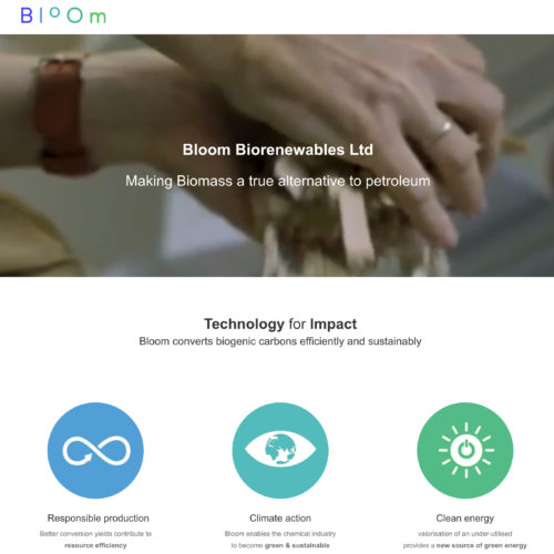Bloom Biorenewables is developing an innovative process and has join the MIC
