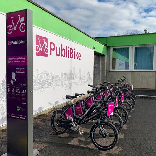PubliBike ouvre une station au MIC